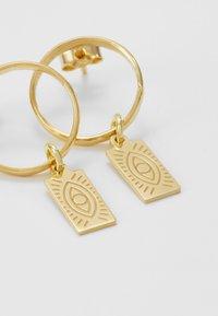 Hermina Athens - DELIAN BAND EARRINGS - Earrings - gold - 4