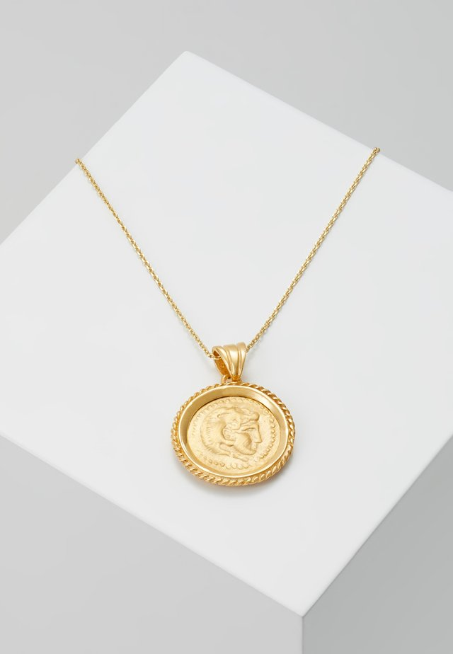 HERCULES PENDANT - Halsband - gold-coloured