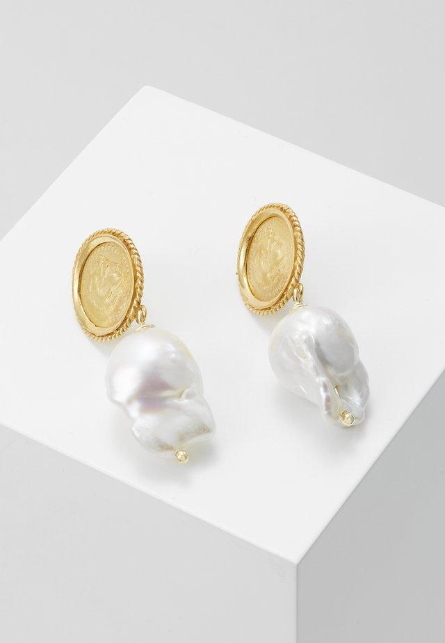 HERCULES LOST SEA PIN EARRINGS - Korvakorut - gold