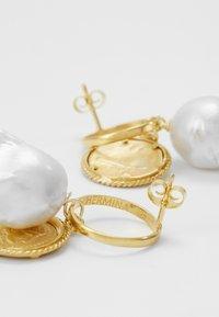 Hermina Athens - HERCULES LOST SEA BAND EARRINGS - Earrings - gold-coloured - 2