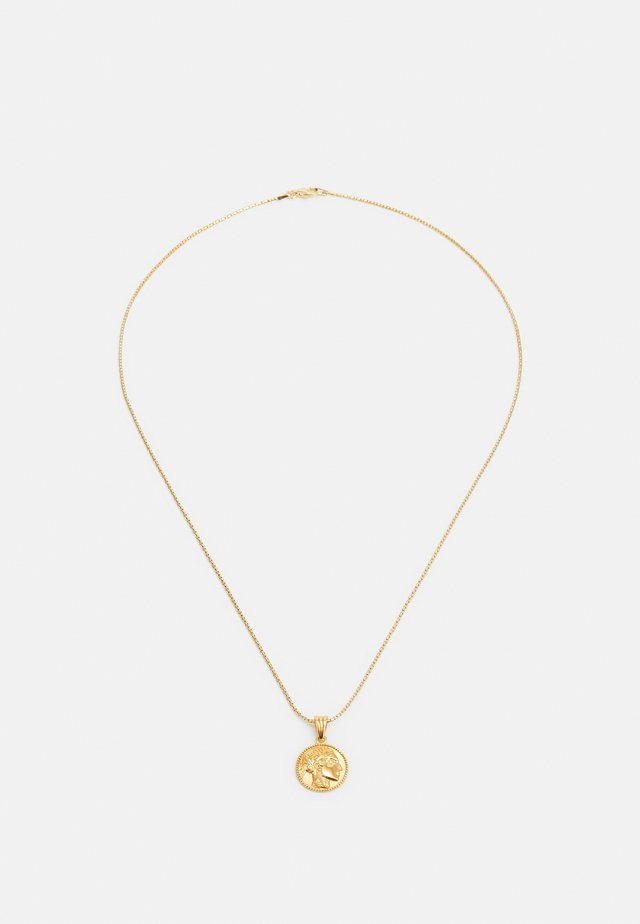 ATHÉNA SNAKE CHAIN PENDANT - Halsband - gold-coloured