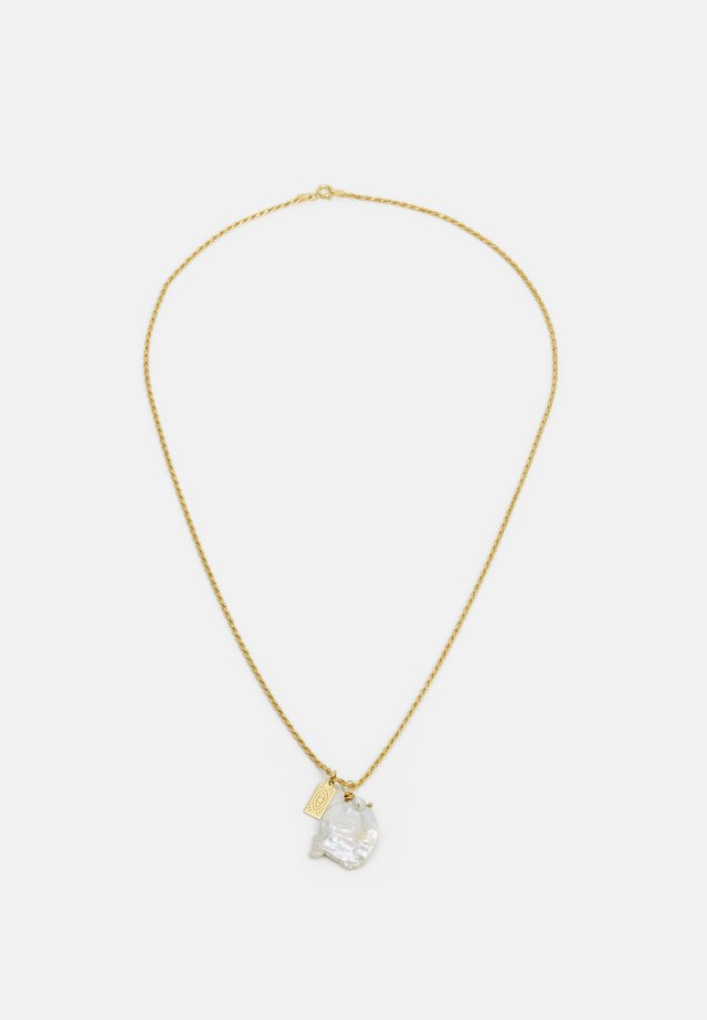 GALINI PEARL PENDANT - Ketting - gold-coloured
