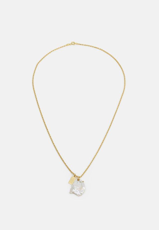 GALINI PEARL PENDANT - Halsband - gold-coloured