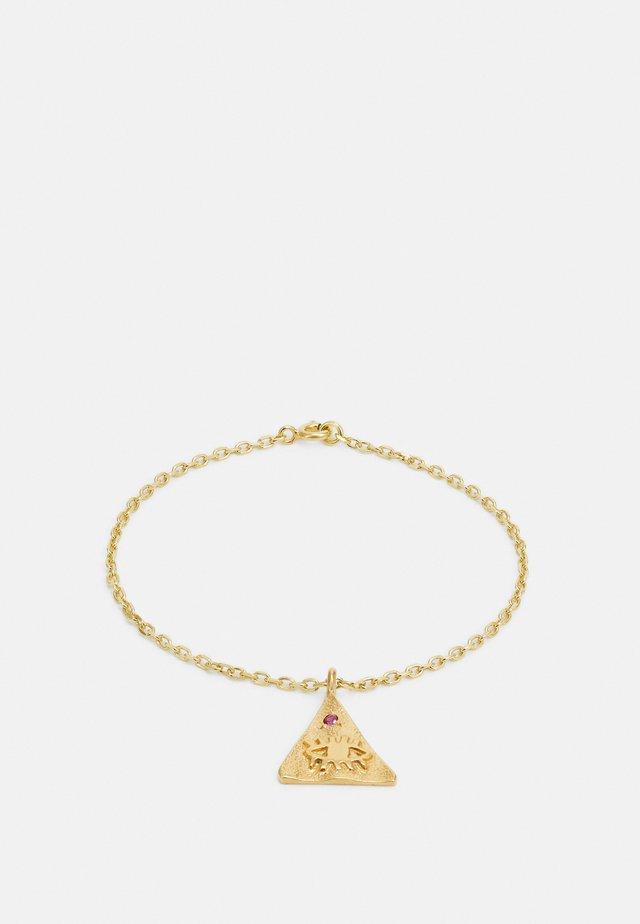 KRESSIDA PYRAMIS BRACELET - Armband - gold-coloured/multi