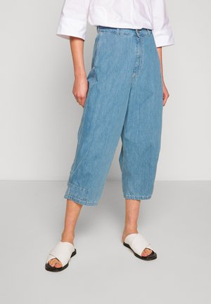 HANG TROUSER - Džíny Straight Fit - beach blue