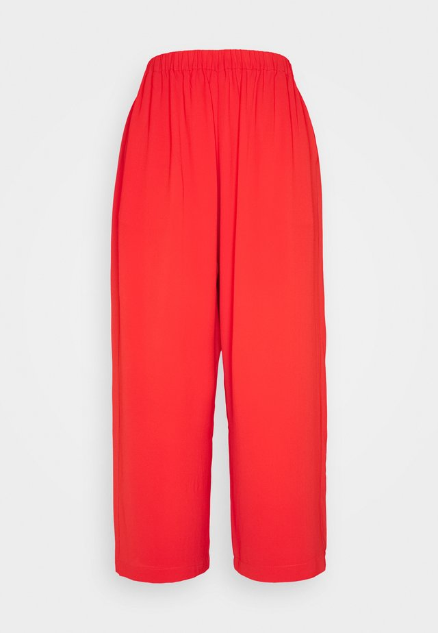 NEW DEMO PANTS - Stoffhose - emotional red