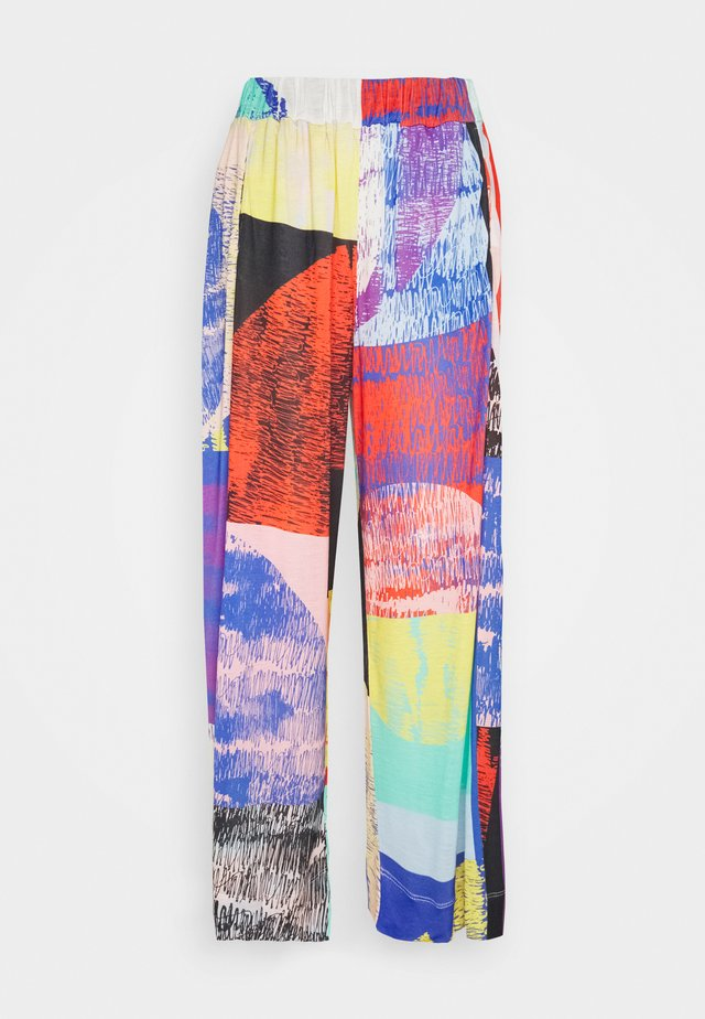 GRABBER PANTS - Pantalon classique - blurry lights