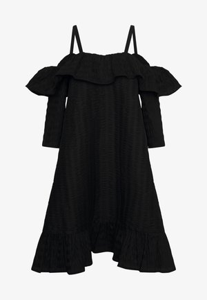 FLOSS DRESS - Korte jurk - black