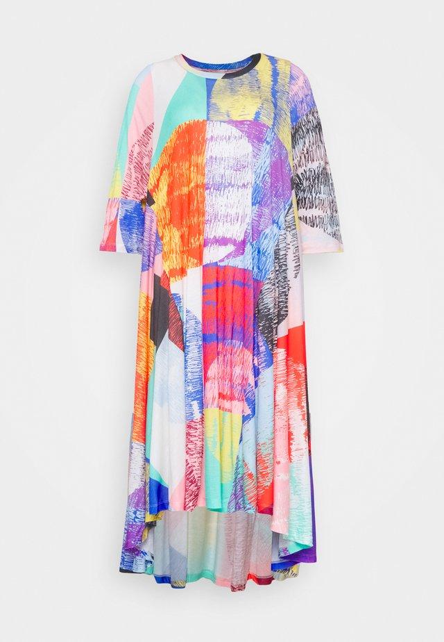 PULSE DRESS - Freizeitkleid - blurry lights print