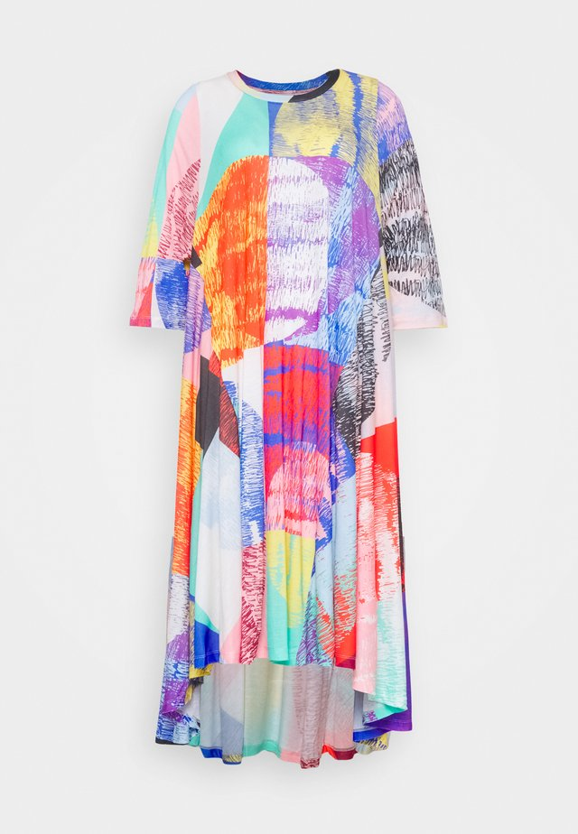 PULSE DRESS - Korte jurk - blurry lights print