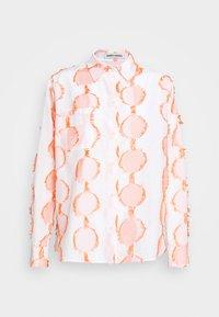 Henrik Vibskov - CRANE - Button-down blouse - cream - 7