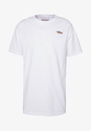THE TEE - T-shirt - bas - eat me white