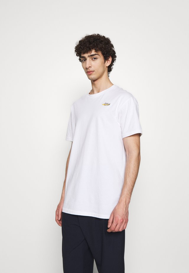 THE TEE - T-shirt basic - eat me white
