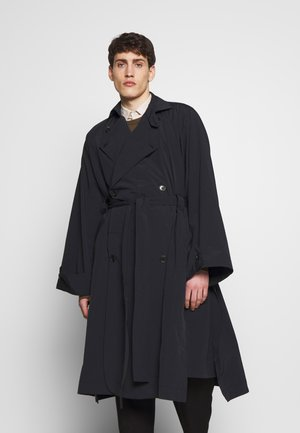 PLUS COAT - Trenchcoats - black