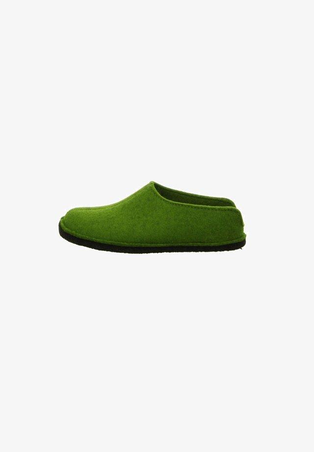 Slippers - grün