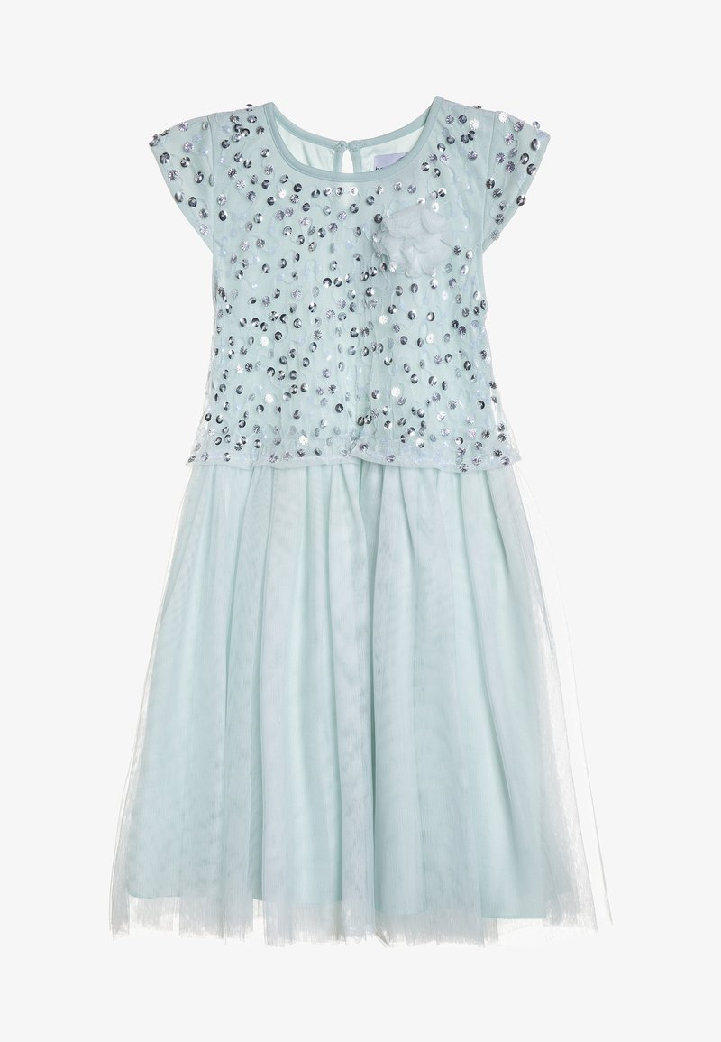 happy girls - PAILETTEN KLEID - Cocktail dress / Party dress - ice blue