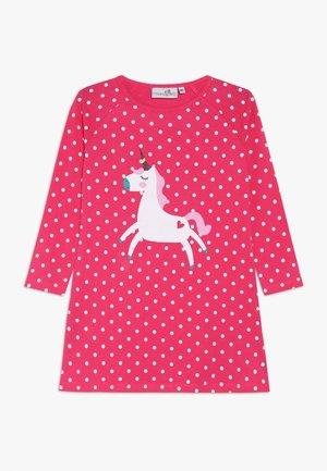 UNICORN DOTS - Jersey dress - pink