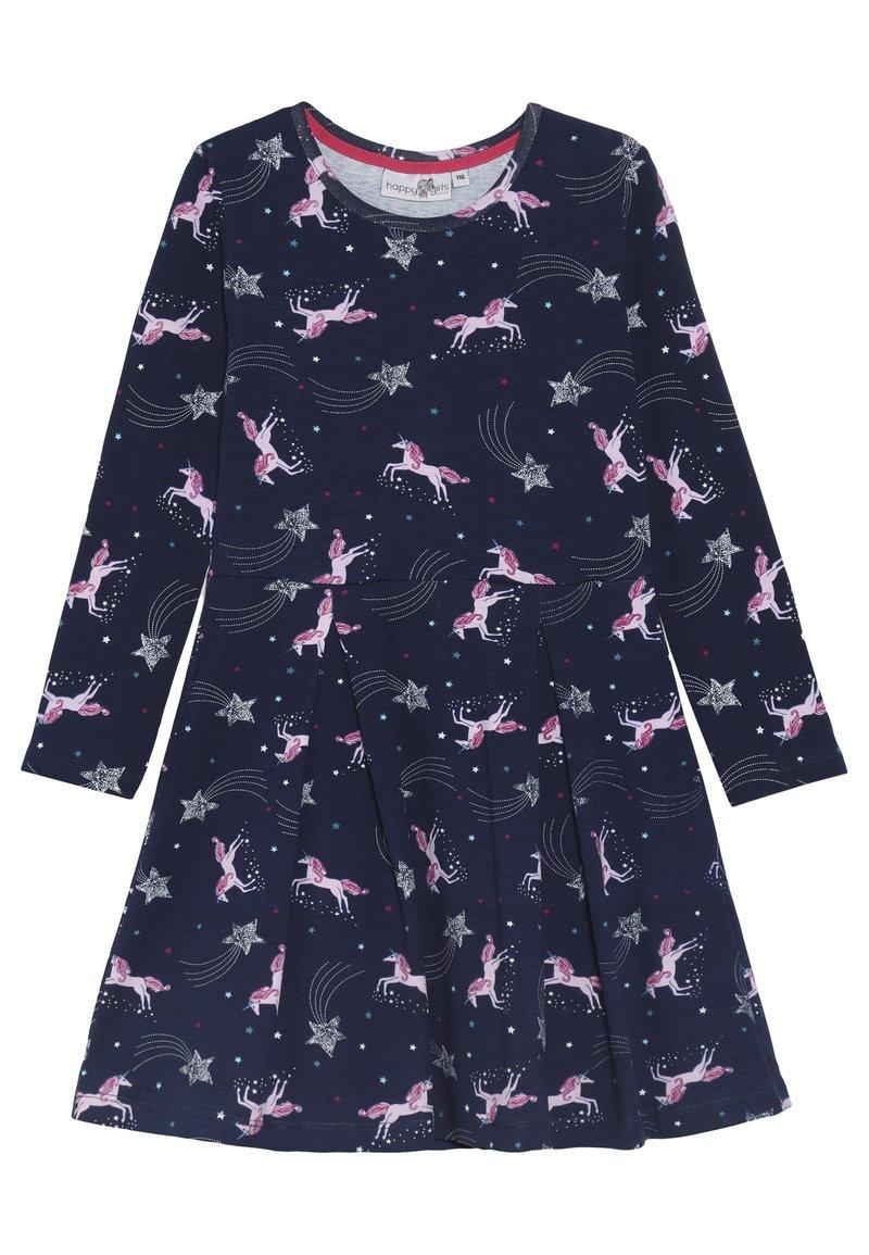 happy girls - PFERDE - Jersey dress - navy