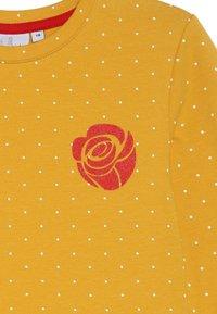 happy girls - DOTS AND BIG HEART - Jerseykjoler - mustard yellow - 4