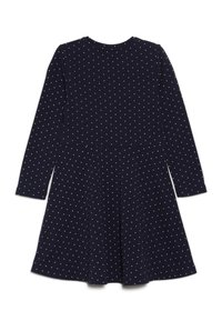 happy girls - DOTS AND BIG HEART - Jersey dress - navy - 1