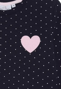 happy girls - DOTS AND BIG HEART - Jersey dress - navy - 4