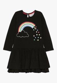 happy girls - RAINBOW - Jersey dress - black - 0