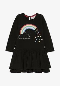 happy girls - RAINBOW - Jersey dress - black - 2