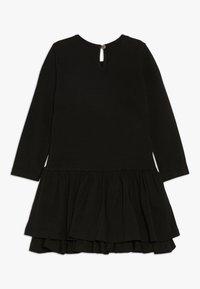 happy girls - RAINBOW - Jersey dress - black - 1