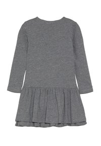 happy girls - PENGUIN - Jersey dress - grey melange - 1