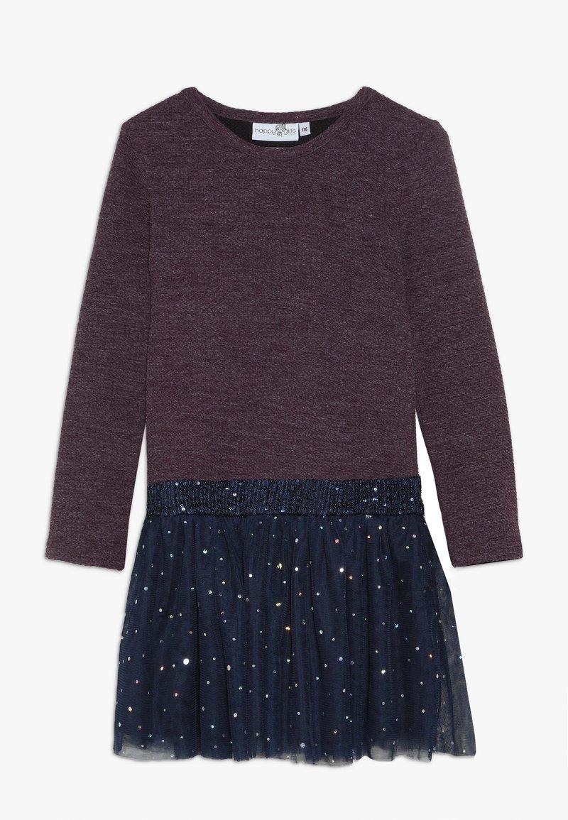 happy girls - Jumper dress - purple