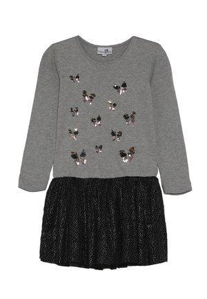 Jersey dress - grey