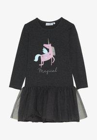 happy girls - UNICORN - Jersey dress - anthracite - 3