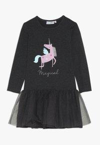 happy girls - UNICORN - Jersey dress - anthracite - 0