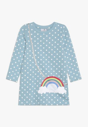 DOTS RAINBOW POCKET - Vestido informal - türkis