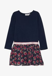 happy girls - WITH STRAWBERRY SKIRT - Jerseyklänning - navy - 2