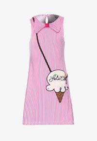 happy girls - Sukienka z dżerseju - pink - 0