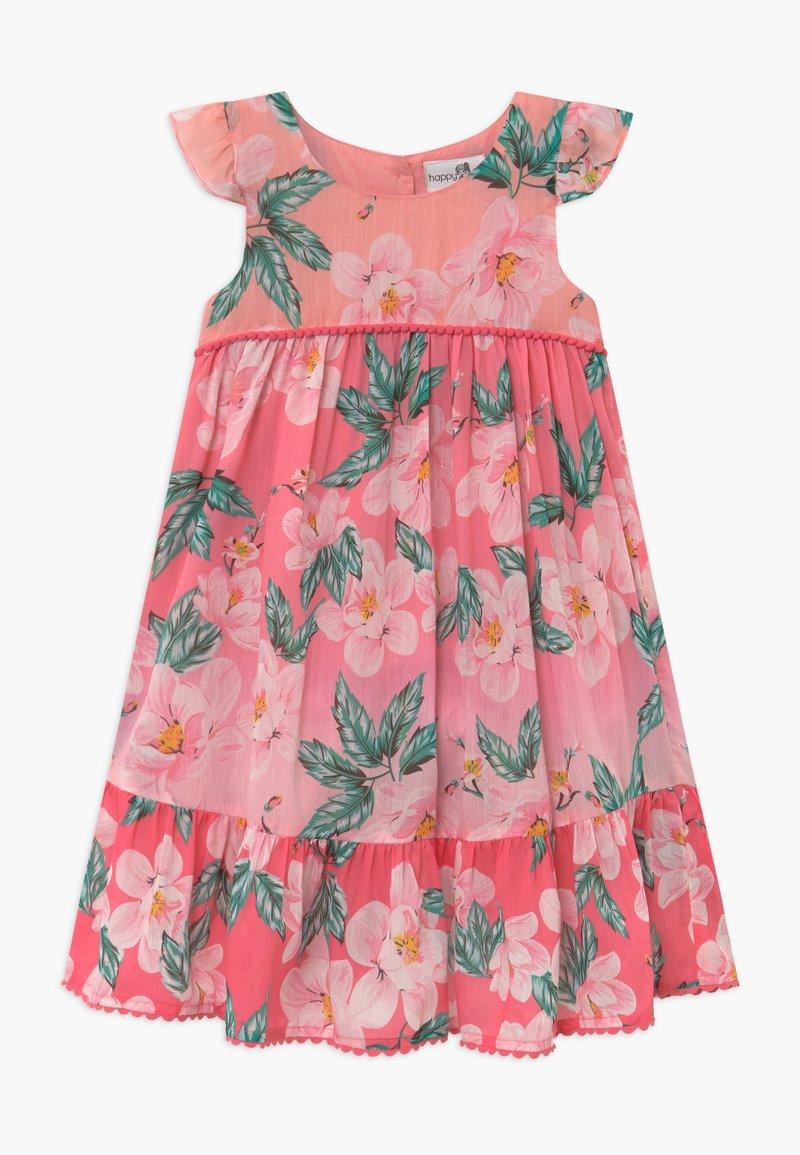 happy girls - Denní šaty - coral