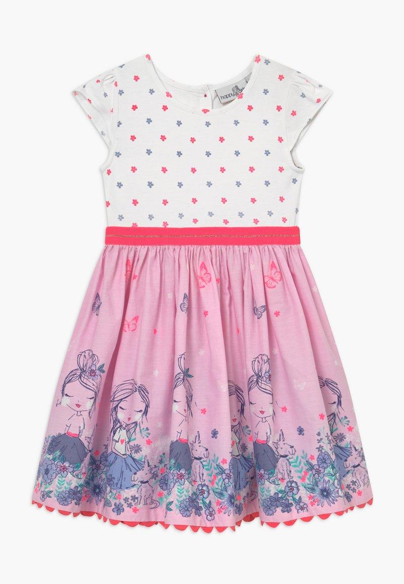 happy girls - Trikoomekko - neon pink