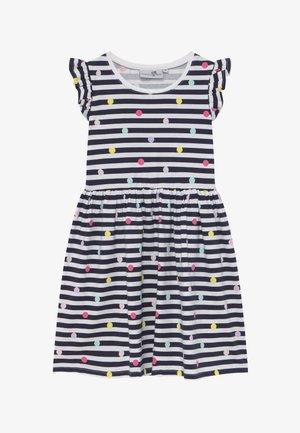 Žerzejové šaty - navy