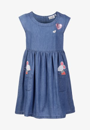 Denim dress - jeans blue