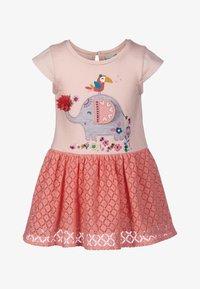 happy girls - Day dress - peach - 0