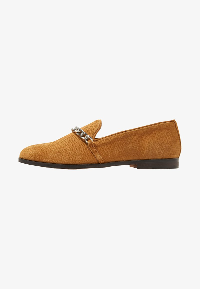 House of Hounds - CERBERUS CHAIN LOAFER - Mocasines - ginger