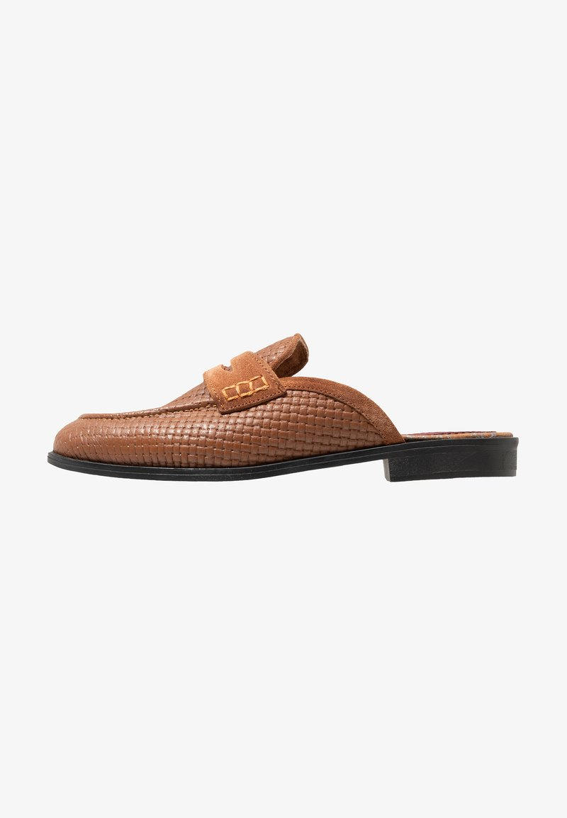 House of Hounds - BASTIAN EMBOSSED PENNY - Mocassins - tan