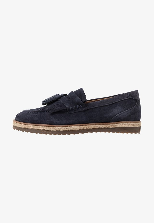HELIOS TASSLE LOAFER - Loafers - navy