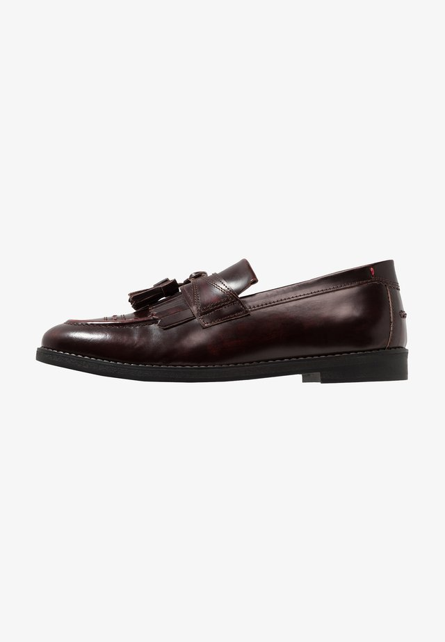 ARCHER - Business loafers - burgundy