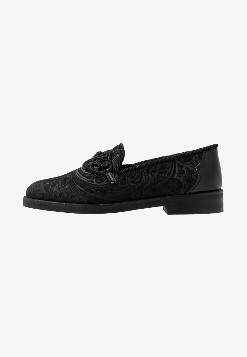 House of Hounds - MERCURY TRIM FEATURE - Slippers - black