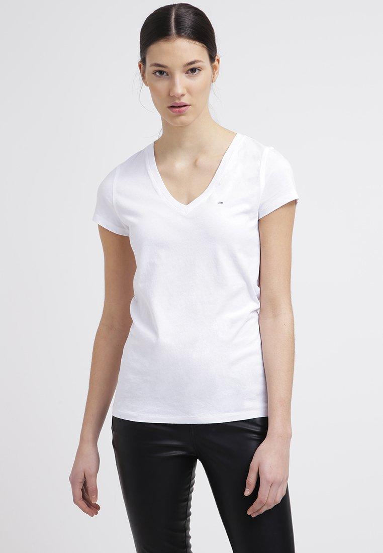 Hilfiger Denim - LEELA - T-shirt basic - classic white
