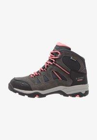 Hi-Tec - BANDERA II WP  - Hiking shoes - charcoal/graphite/blossom - 1