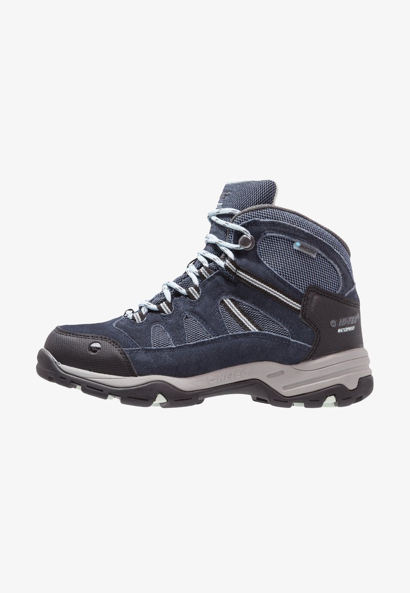 Hi-Tec - BANDERA II WP  - Hiking shoes - cornflower/sprout