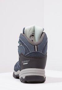 Hi-Tec - BANDERA II WP  - Hiking shoes - cornflower/sprout - 3
